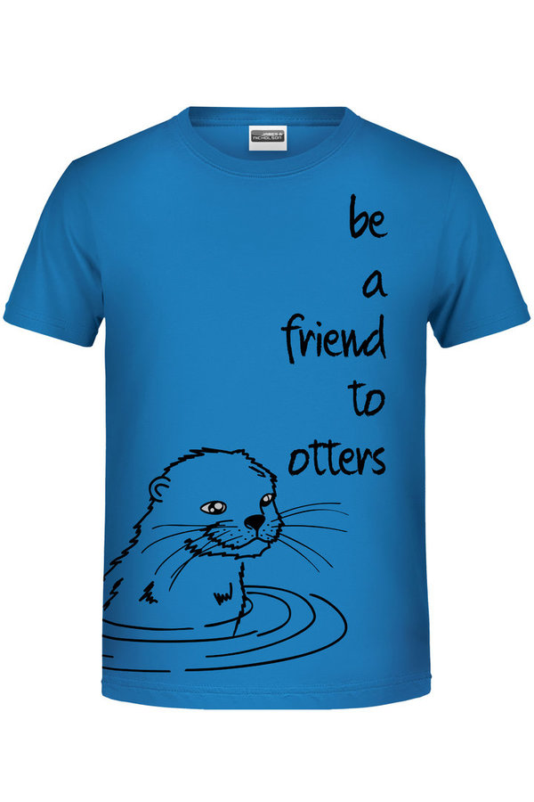 "Bio Kinder Shirt ""Otterfreund"""